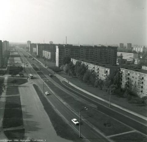 Foto: Viivi Ahonen, 1984 Mustamäe