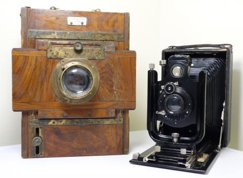 Nende kaameratega on raamatus olevad pildid üles võetud. Foto: kuvatõmmis, hooandja.ee