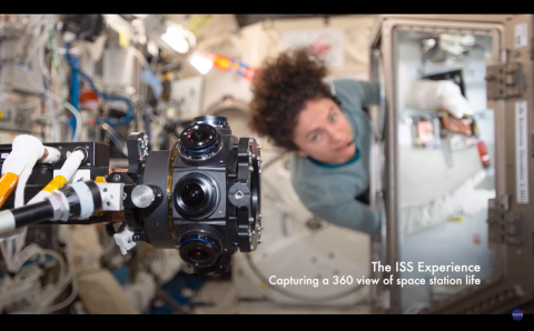 Foto: NASA, kuvatõmmis videost